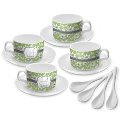 Wild Daisies Tea Cup - Set of 4 (Personalized)