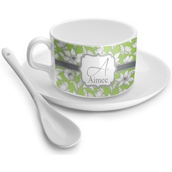 Wild Daisies Tea Cup - Single (Personalized)