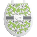 Wild Daisies Toilet Seat Decal (Personalized)