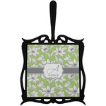 Wild Daisies Trivet with Handle (Personalized)
