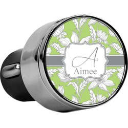 Wild Daisies USB Car Charger (Personalized)