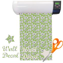 Wild Daisies Vinyl Sheet (Re-position-able)