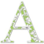 Wild Daisies Letter Decal - Custom Sized (Personalized)