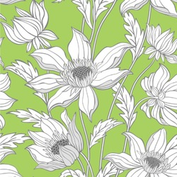 Wild Daisies Wallpaper & Surface Covering
