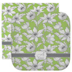 Wild Daisies Facecloth / Wash Cloth (Personalized)