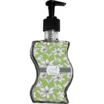 Wild Daisies Wave Bottle Soap / Lotion Dispenser (Personalized)