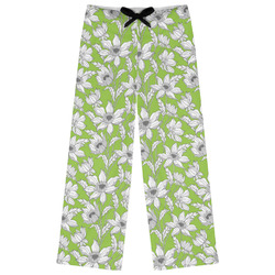 Wild Daisies Womens Pajama Pants (Personalized)