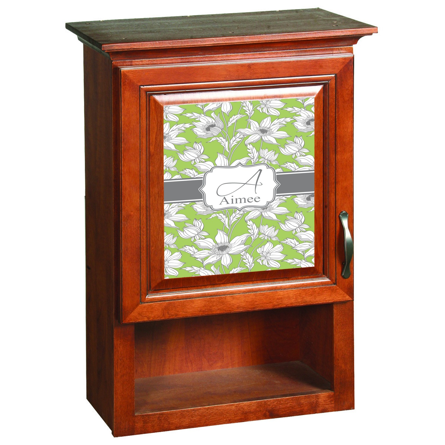 Wild Daisies Cabinet Decal Large (Personalized) RNK Shops. Full resolution  picture, nominally Width 1376 Height 1500 pixels, picture with #B74114.
