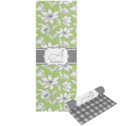 Wild Daisies Yoga Mat - Printable Front and Back (Personalized)