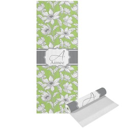 Wild Daisies Yoga Mat - Printed Front (Personalized)