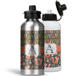 Fox Trail Floral Water Bottles- Aluminum (Personalized)