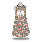 Fox Trail Floral Apron (Personalized)