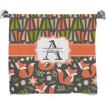 Fox Trail Floral Full Print Bath Towel (Personalized)