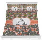 Fox Trail Floral Comforter Set (Personalized)