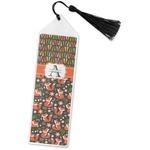 Fox Trail Floral Book Mark w/Tassel (Personalized)