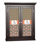 Fox Trail Floral Cabinet Decal - Custom Size (Personalized)