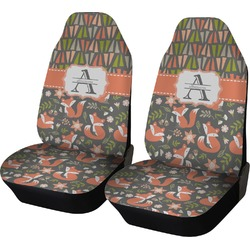 Fox Trail Floral Car Seat Covers (Set of Two) (Personalized)