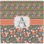 Fox Trail Floral Ceramic Tile Hot Pad (Personalized)