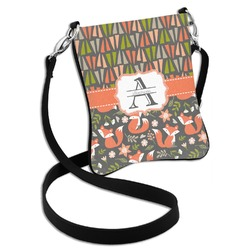 Fox Trail Floral Cross Body Bag - 2 Sizes (Personalized)