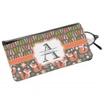 Fox Trail Floral Genuine Leather Eyeglass Case (Personalized)