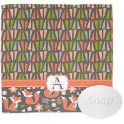 Fox Trail Floral Wash Cloth (Personalized)