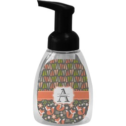 Fox Trail Floral Foam Soap Dispenser (Personalized)