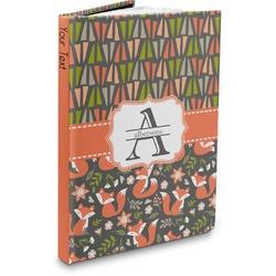 Fox Trail Floral Hardbound Journal (Personalized)