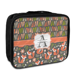 Fox Trail Floral Insulated Lunch Bag (Personalized)