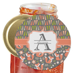 Fox Trail Floral Jar Opener (Personalized)