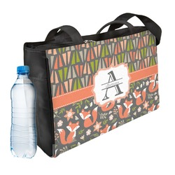 Fox Trail Floral Ladies Workout Bag (Personalized)