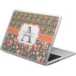 Fox Trail Floral Laptop Skin - Custom Sized (Personalized)