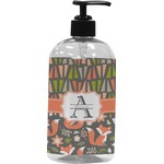 Fox Trail Floral Plastic Soap / Lotion Dispenser (Personalized)