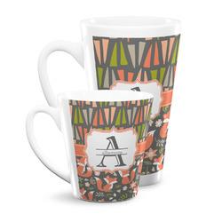 Fox Trail Floral Latte Mug (Personalized)