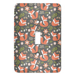 Fox Trail Floral Light Switch Covers (Personalized)