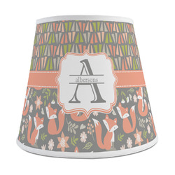 Fox Trail Floral Empire Lamp Shade (Personalized)