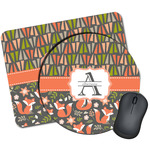 Fox Trail Floral Mouse Pads (Personalized)