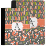 Fox Trail Floral Notebook Padfolio w/ Name and Initial