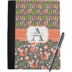 Fox Trail Floral Notebook Padfolio (Personalized)