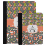 Fox Trail Floral Padfolio Clipboard (Personalized)