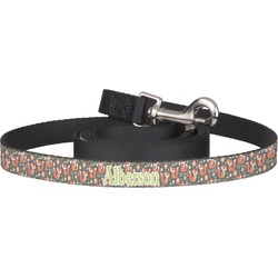 Fox Trail Floral Pet / Dog Leash (Personalized)