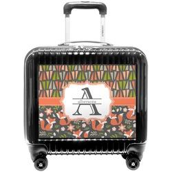 Fox Trail Floral Pilot / Flight Suitcase (Personalized)