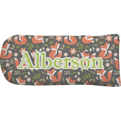 Fox Trail Floral Putter Cover (Personalized)
