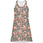 Fox Trail Floral Racerback Dress (Personalized)
