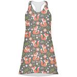 Fox Trail Floral Racerback Dress (Personalized)