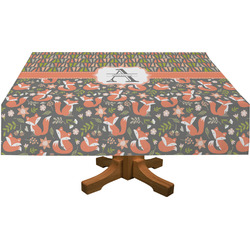 Fox Trail Floral Tablecloth (Personalized)