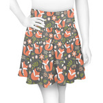 Fox Trail Floral Skater Skirt (Personalized)