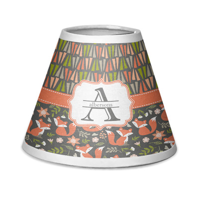 Fox Trail Floral Chandelier Lamp Shade (Personalized)