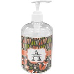 Fox Trail Floral Soap / Lotion Dispenser (Personalized)