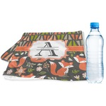 Fox Trail Floral Sports & Fitness Towel (Personalized)