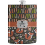 Fox Trail Floral Stainless Steel Flask (Personalized)